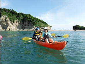 【Shonan · Zushi】 Enjoy with parents and children Sea kayaking & observing living creatures of the island