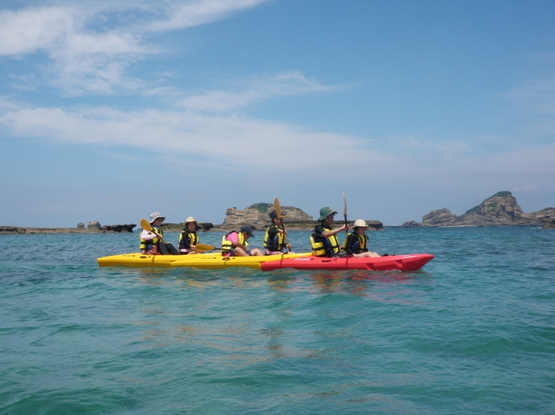 [Kagoshima ・ Tanegashima 】 Into the mangrove native forest! Sea kayak Experience tour (half-day course)の紹介画像