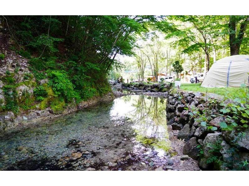 栃木県日光市【時間無制限!清流で魚のつかみどり】※その場で炭火焼にできます。の紹介画像