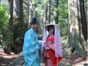 【和歌山・勝浦・着物レンタル】平安衣裳着付け体験のモデルコースの画像
