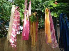 【沖縄県・今帰仁村】染物体験 Botanica(ボタニカ)自分だけのオリジナル「ショール」を作ろう!の画像