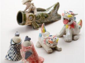 【岐阜・大垣】手びねり陶芸体験<人形コース>の画像