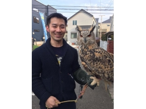 【東京・国分寺】 カワイイふくろうと一緒に過ごす カフェタイムの画像