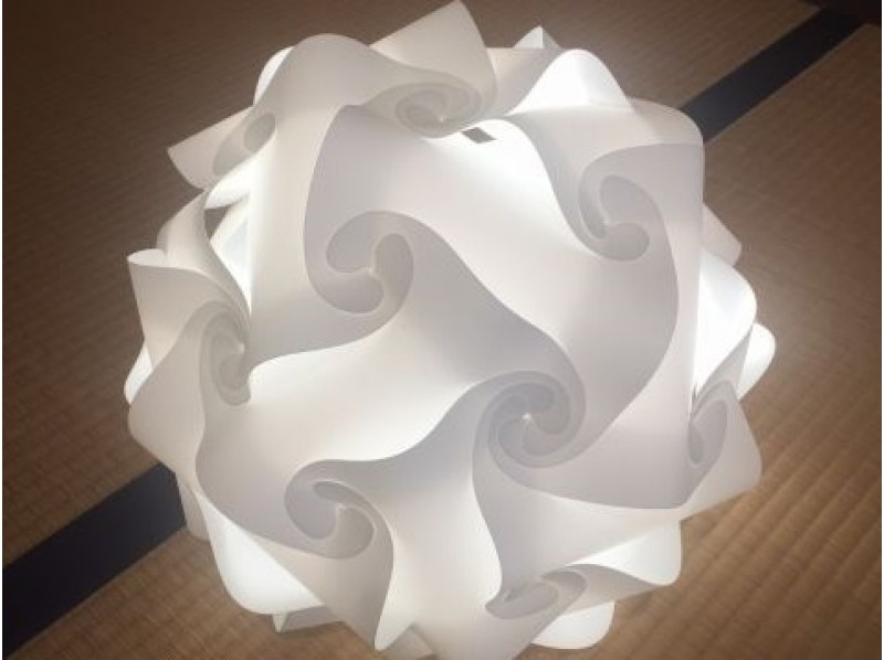If you are handmade lampshade classroom reservation activity japan futami town ise city mie prefecture image of lamp shade making experience mozeypictures Images