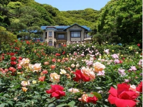 Visit Kamakura literature museum & Western-style building where spring is smelling and tour of former Yoshida Moguri - Lunch at Oiso Prince Hotel ~ 【9834】