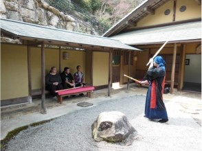 "【Hiroshima / Miyajima】""Tour of Aki"" Experience Calligraphy and Kendo in Miyajima Misen Daihonzan Daisho-in (with lunch)"