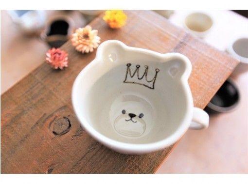 [大阪梅田]熊/猫马克杯绘画体验☆用原创马克杯享受每一天♪の紹介画像