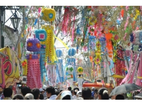 "【Chiba】 Viking and Viking and the Kanto Sannai Tanabata ""Mobara Tanabata Festival"" bus tour [P9915]"