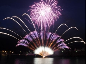 View Ashino fireworks display from the pleasure boat! & Odawara Castle Observation Bus Tour ~ Japanese Cuisine with Tomari Dinner - 【10008】