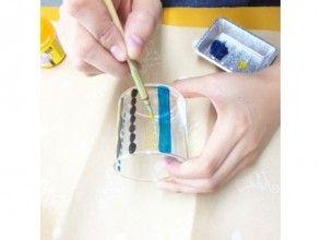 【大阪梅田】玻璃画一日体验☆有趣的玻璃工艺品烤出五颜六色的颜料♪