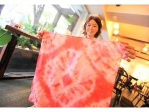[Osaka Umeda] Tie-dye dyeing experience ☆ Enjoy every day ♪ Adult casual with bandana and T-shirt dyed by yourself ☆