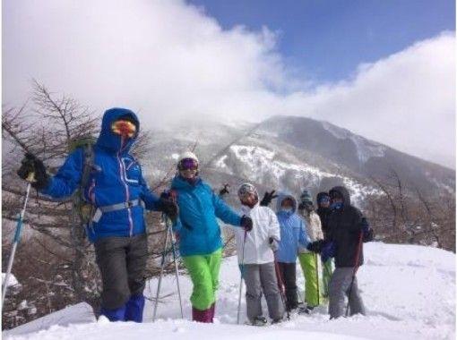 【長野・高峰高原】雪庇の絶景~スノーシュー初級者向けコース「高峰山」10才から参加OK!