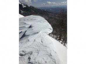 【長野・高峰高原】【高峰山】雪庇の絶景♪