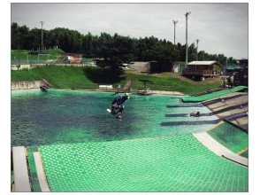 【Mie / Kuwana】 Challenge water jump! Image of session number ticket (6 times)