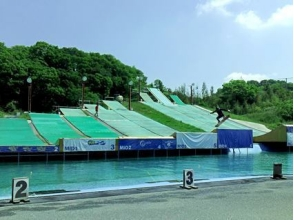 【Osaka · Daito】 Challenge water jump! Image of 1 session number ticket (6 times)