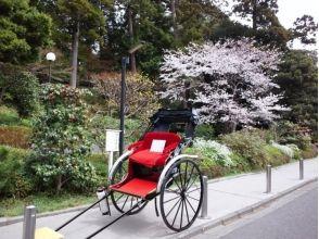 【Shonan · Kamakura】 Let's enjoy Kamakura old city ★ Images of rickshaw (60 minutes course)
