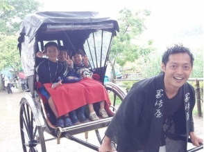 【Shonan · Kamakura】 Easy experience ★ Rickshaw (40 minutes course) image