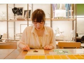 【東京・吉祥寺】ガラスプレートで箸置きやアクセサリーを作ろう♪簡単ガラス細工(30分)の画像