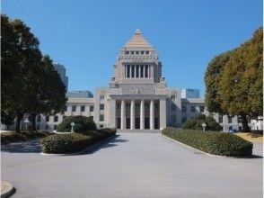 [東京,議會,旅遊兩院]議會與永田町的房子的步行旅遊形象