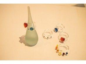 【東京・吉祥寺】バーナーワークで耐熱ガラスの指輪作り♪当日持ち帰り可!(1時間)の画像