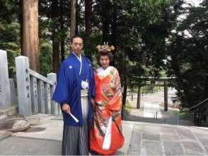 [Hokkaido, Hakodate] Japanese-style wedding photo of Hakodate Japanese and Western Modern Costume Rental! 60 minutes plan