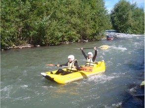 [Hokkaido ・ Furano]half-day Ducky boat rafting Experience (Am / PM course) ★ Challenge to difficult places ★