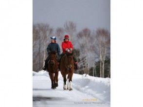 【北海道・登別】ホーストレッキング引き馬コース(20分)の画像