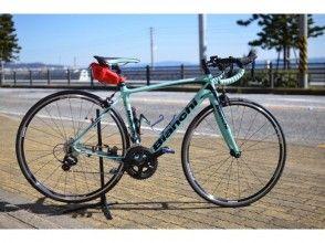 """[神奈川縣三浦]的出租自行車""""碳公路自行車""""的形象租賃計劃"""