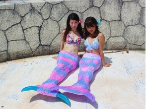 【Okinawa · Ginowan City】 You can become a mermaid ★ Images of Mermaid shooting