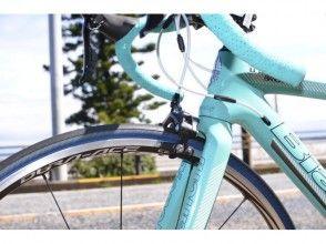 """[神奈川三浦]的""""(超輕型輪規格)碳公路自行車""""出租自行車圖像出租計劃"""