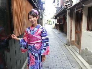 【京都・四条寺町・着物レンタル】200種類以上から選べる!セレクトプラン(手ぶらでOK!)の画像