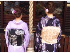 【京都・四条寺町・着物レンタル】プレミアム(大人装い)プラン(手ぶらでOK!)の画像