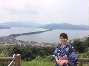 【大阪・浴衣レンタル】やまとなでしこ1日体験♪関西空港にてお着付!当日返却ベーシックコースの画像