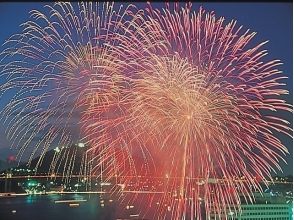 [Pokékaru Kyushu organized] Group tour seat secured! Kanmon Strait Fireworks Display Sea View Seating Bus Tour 【10160】