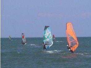 [Ishikawa Uchinada coast] windsurfing experience school