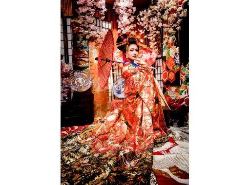 【奈良・JR奈良】花魁体験「変身スタジオ」撮影プラン【地域共通クーポン利用可能】