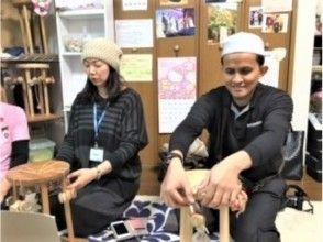 【福岡 伝統工芸体験】 組紐体験でオリジナルブレスレットをつくろう!【カップルプラン お茶菓子付】の画像
