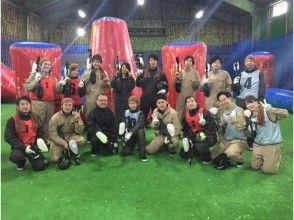 【北海道・札幌】ペイントボール体験:スタンダードプラン(Aコース)