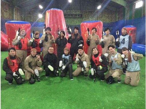 Paintball field burst Sapporo