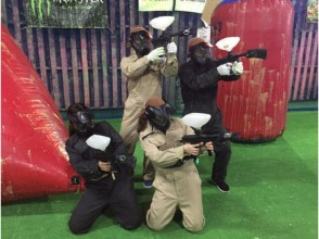【北海道・札幌】時間たっぷり★ペイントボール体験:エキサイトプラン(Cコース)