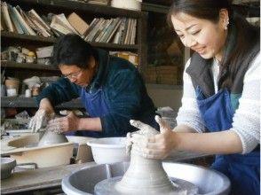 [岐阜/土岐市]小孩們第一次可以玩耍了!電動陶輪的美濃陶藝體驗