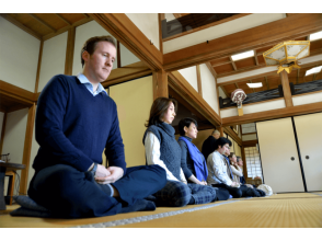 【Kamakura Zen Zen Experience】 Image of the maintenance of the mind and body by the zazen at the temple of Kamakura
