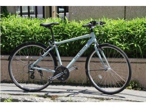 地域共通クーポン利用可能【山梨・河口湖】快適なスポーツタイプ自転車の1日レンタル