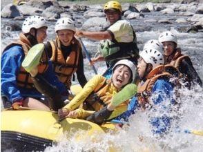 [Shizuoka ・ Gotenba】 Fujikawa half-day Rafting Tours