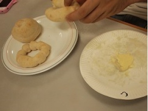 【Gifu · Hida】 Bread making & butter making (about 40 minutes) ★ Let's make it with children! Image of