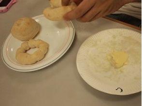 【岐阜・飛騨】パン作り&バター作り(約40分)★お子様と一緒に作ろう!の画像