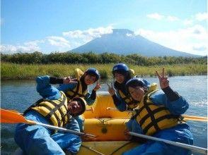【北海道・ニセコ】尻別川漂流ラフティング体験★美しい羊蹄山を背景に自然を堪能!