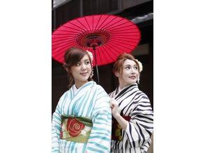 【京都・祇園】一日お手軽レンタル着物姫 ♪「気軽にセレクトプラン」の画像
