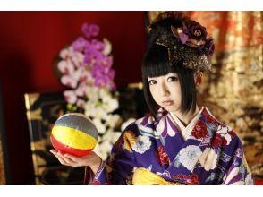 【京都・祇園】一日お手軽レンタル着物姫 ♪「プレミアムプラン」の画像