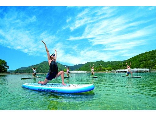 [Mie Prefecture, Taiki Town] Sunset SUP YOGA at the tropical garden!の紹介画像